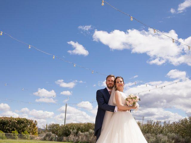 La boda de Juan Antonio y Gema en Caracuel De Calatrava, Ciudad Real 83