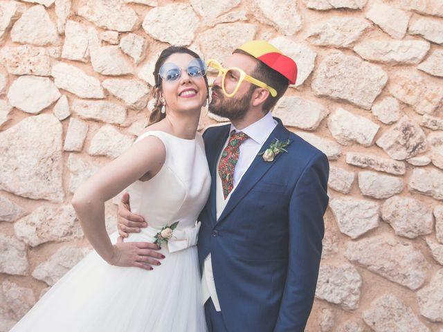 La boda de Juan Antonio y Gema en Caracuel De Calatrava, Ciudad Real 85