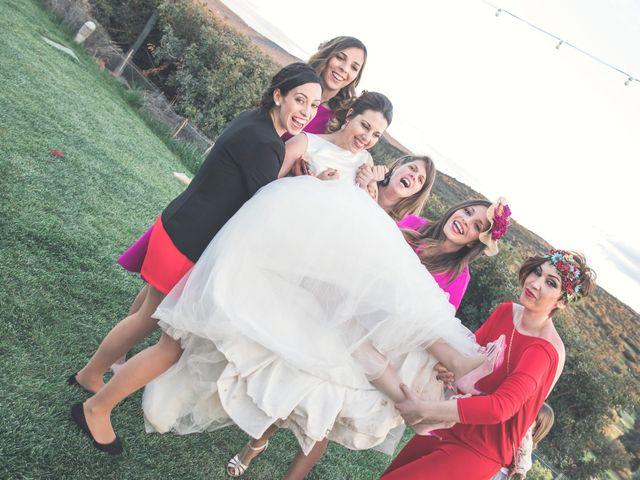 La boda de Juan Antonio y Gema en Caracuel De Calatrava, Ciudad Real 88