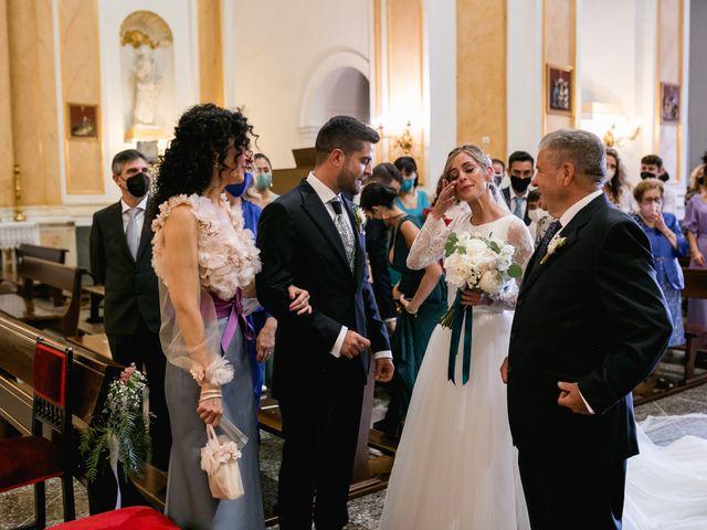 La boda de Raquel y Vicente en Massarrojos, Valencia 23