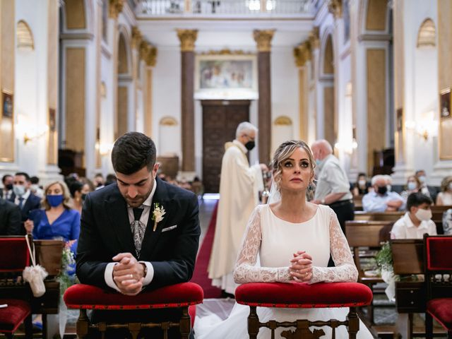 La boda de Raquel y Vicente en Massarrojos, Valencia 27