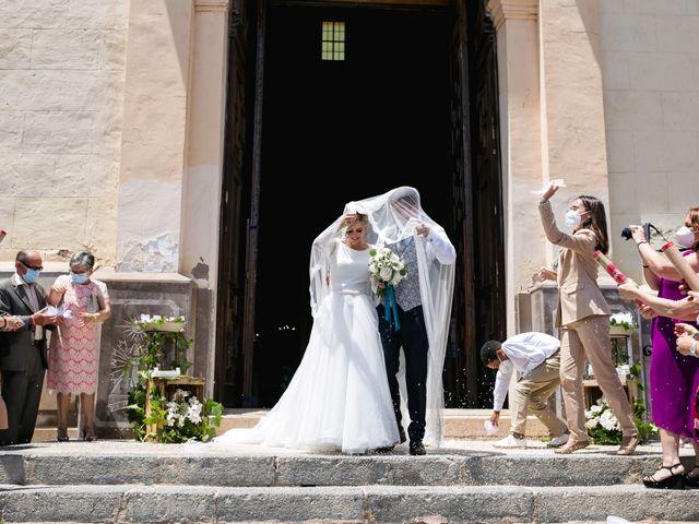 La boda de Raquel y Vicente en Massarrojos, Valencia 29