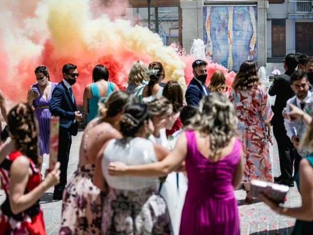 La boda de Raquel y Vicente en Massarrojos, Valencia 32