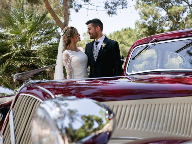 La boda de Raquel y Vicente en Massarrojos, Valencia 33