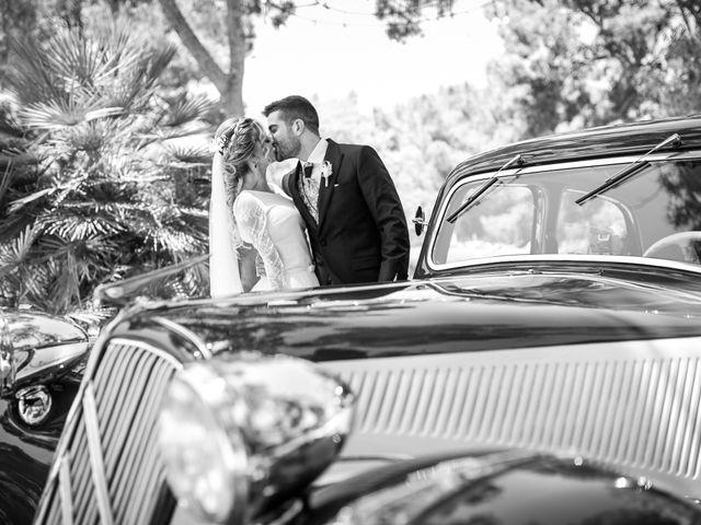 La boda de Raquel y Vicente en Massarrojos, Valencia 34