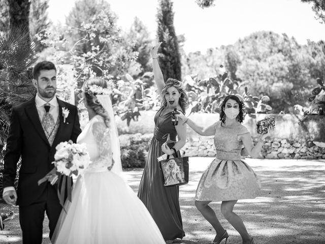 La boda de Raquel y Vicente en Massarrojos, Valencia 35