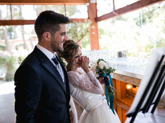 La boda de Raquel y Vicente en Massarrojos, Valencia 37