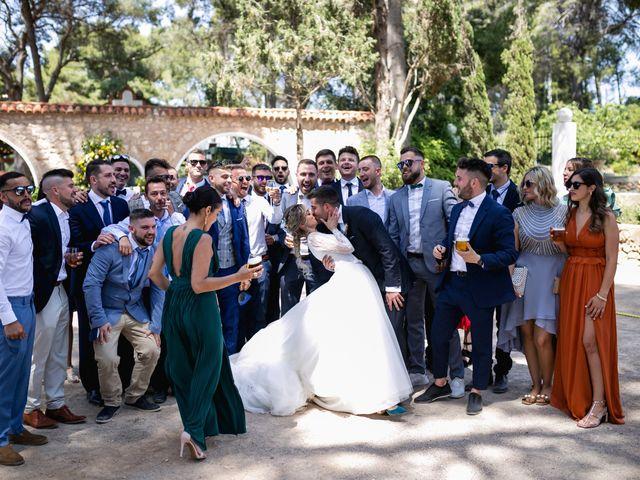 La boda de Raquel y Vicente en Massarrojos, Valencia 39