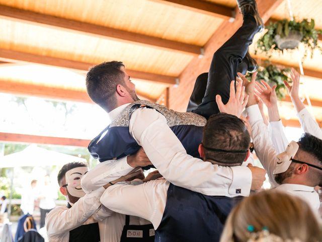 La boda de Raquel y Vicente en Massarrojos, Valencia 42