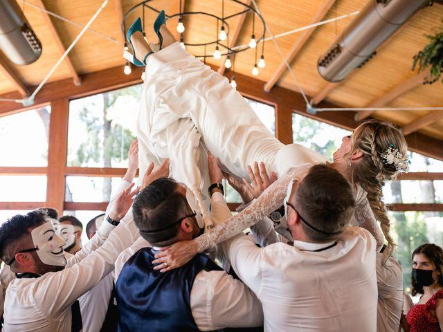 La boda de Raquel y Vicente en Massarrojos, Valencia 43