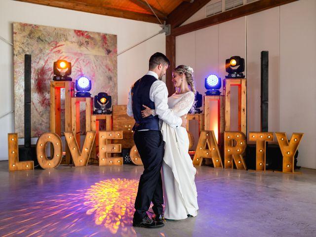 La boda de Raquel y Vicente en Massarrojos, Valencia 45
