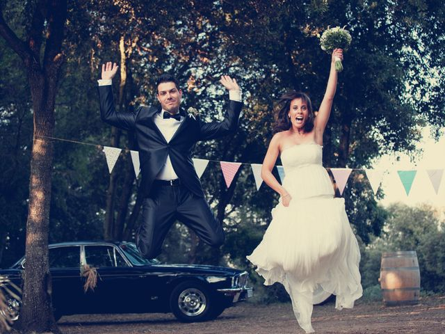 La boda de Elisenda y David