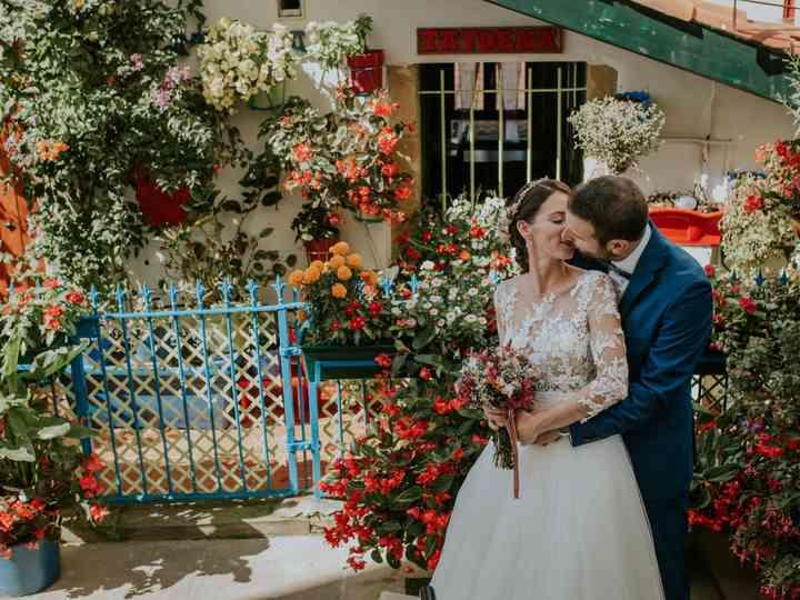 La boda de Bea y Iker