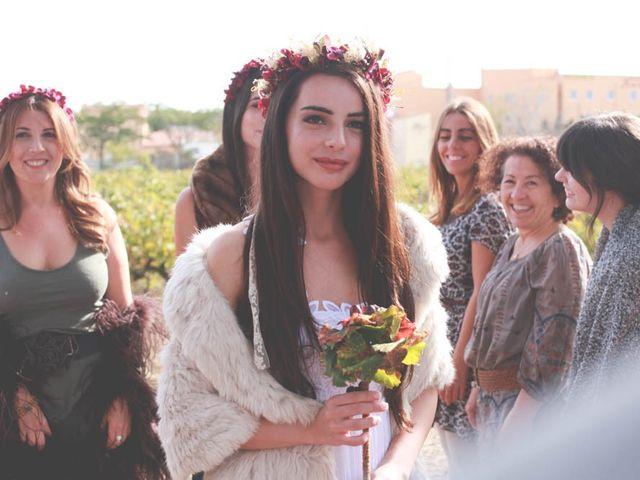 La boda de Carlos y Julia en Vilajüiga, Girona 22