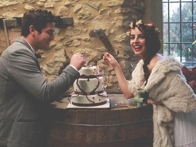 La boda de Carlos y Julia en Vilajüiga, Girona 31