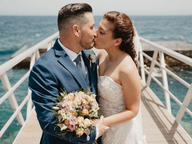 La boda de Elizabeth y Aythami