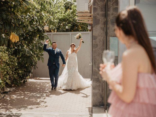 La boda de Aythami y Elizabeth en Guimar, Santa Cruz de Tenerife 140