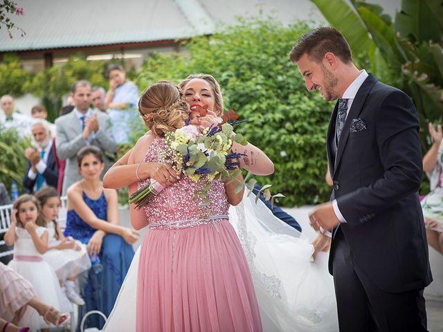 La boda de Angel y Estefania en Alhaurin De La Torre, Málaga 30