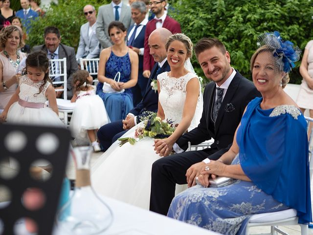 La boda de Angel y Estefania en Alhaurin De La Torre, Málaga 31