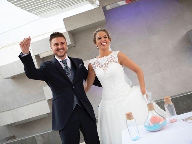 La boda de Angel y Estefania en Alhaurin De La Torre, Málaga 34