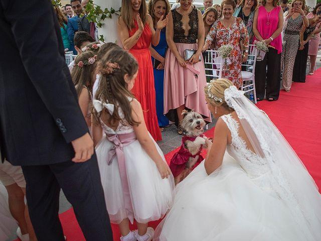 La boda de Angel y Estefania en Alhaurin De La Torre, Málaga 36