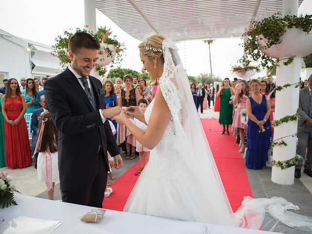 La boda de Angel y Estefania en Alhaurin De La Torre, Málaga 38