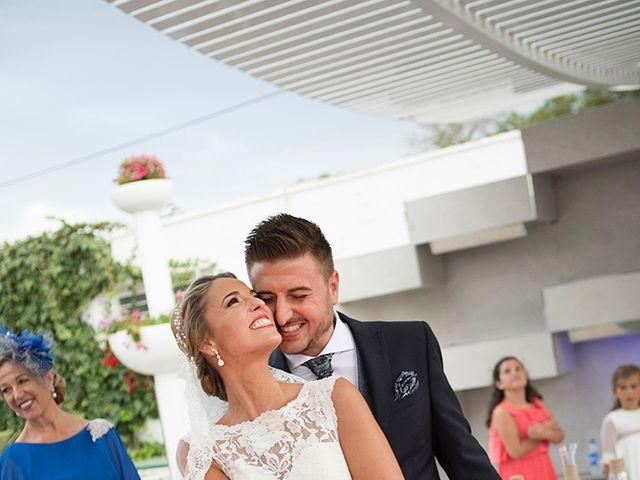 La boda de Angel y Estefania en Alhaurin De La Torre, Málaga 41