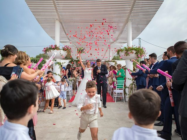 La boda de Angel y Estefania en Alhaurin De La Torre, Málaga 42