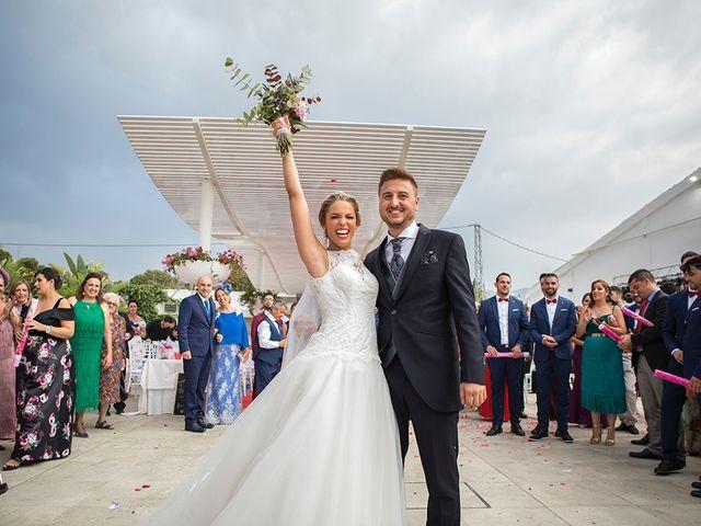 La boda de Angel y Estefania en Alhaurin De La Torre, Málaga 43