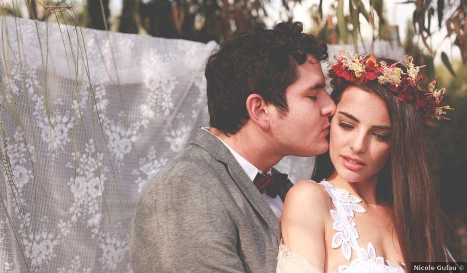 La boda de Carlos y Julia en Vilajüiga, Girona