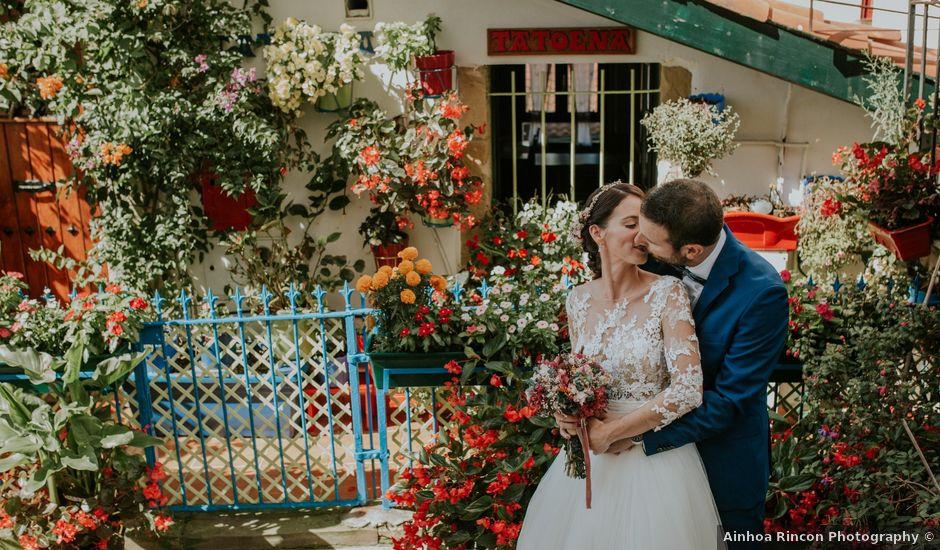 La boda de Iker y Bea en Getxo, Vizcaya