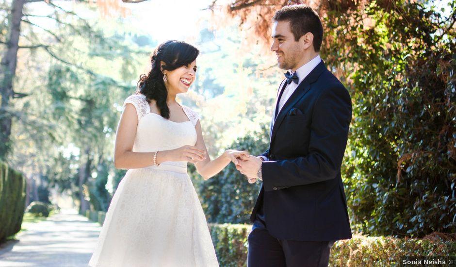 La boda de Brian y Carol en Madrid, Madrid