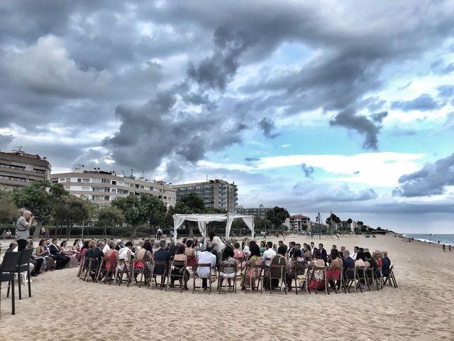 La boda de Juanfran  y Silvia  en Pineda De Mar, Barcelona 4