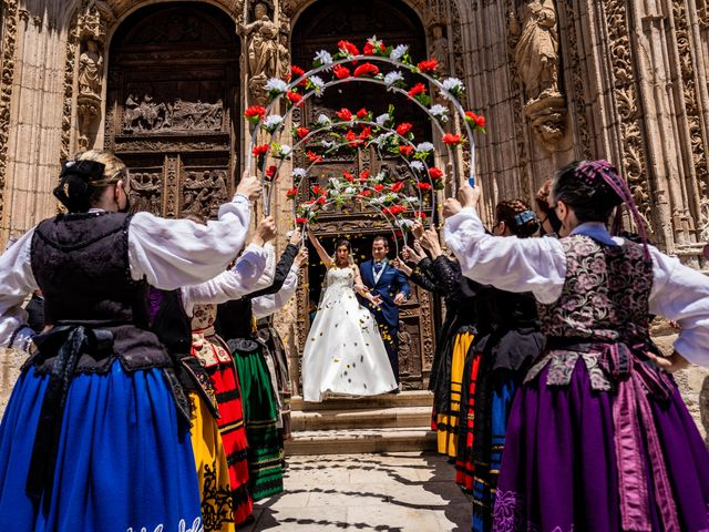 La boda de Fernando y Patricia en Aranda De Duero, Burgos 2