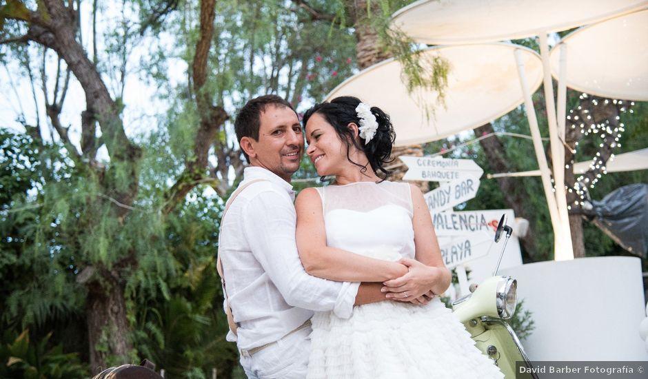 La boda de Christian y Alina en Benicàssim/benicasim, Castellón