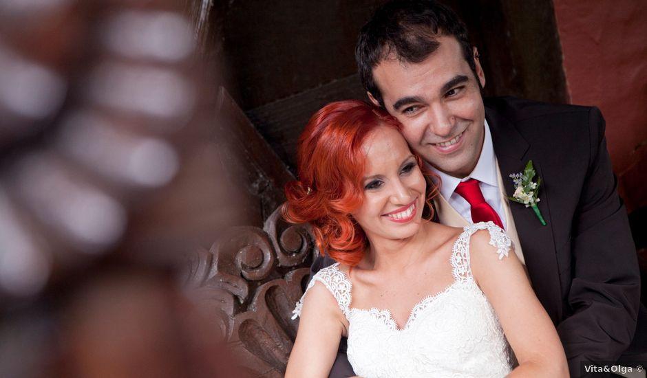 La boda de Edgar y Mari Luz en Alalpardo, Madrid