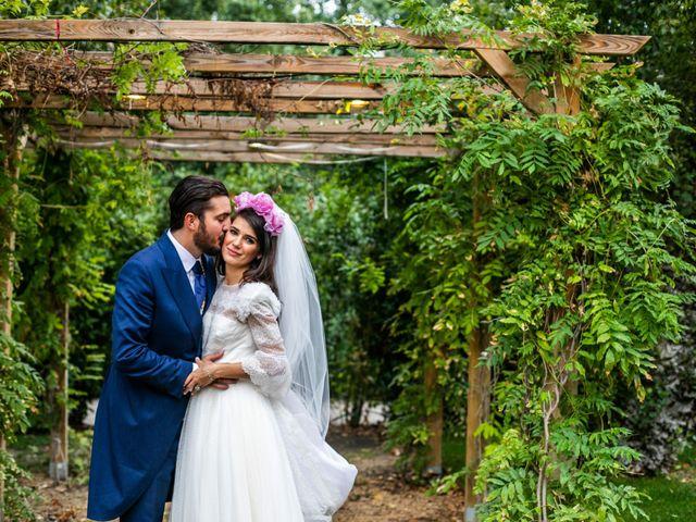 La boda de Antonio y Pilar en San Sebastian De Los Reyes, Madrid 106