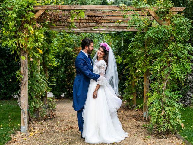 La boda de Antonio y Pilar en San Sebastian De Los Reyes, Madrid 108