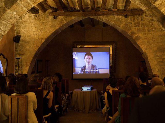 La boda de Brennan y Grace en Sant Cugat Sesgarrigues, Barcelona 90