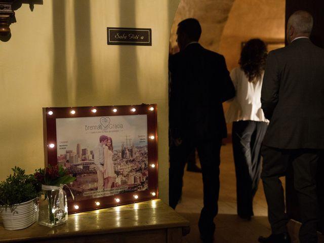 La boda de Brennan y Grace en Sant Cugat Sesgarrigues, Barcelona 91