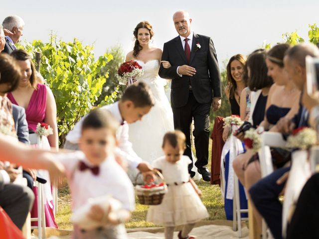 La boda de Brennan y Grace en Sant Cugat Sesgarrigues, Barcelona 102