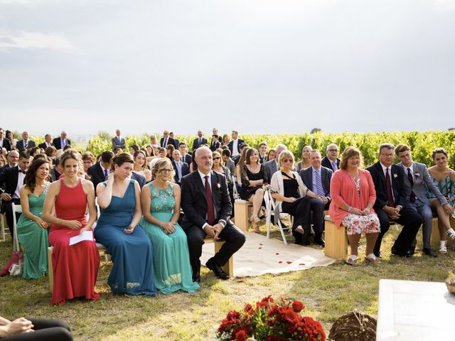 La boda de Brennan y Grace en Sant Cugat Sesgarrigues, Barcelona 105