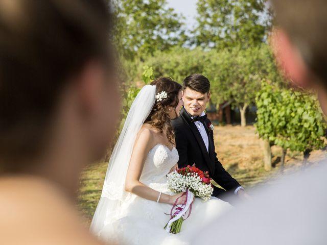 La boda de Brennan y Grace en Sant Cugat Sesgarrigues, Barcelona 107