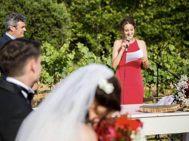 La boda de Brennan y Grace en Sant Cugat Sesgarrigues, Barcelona 108