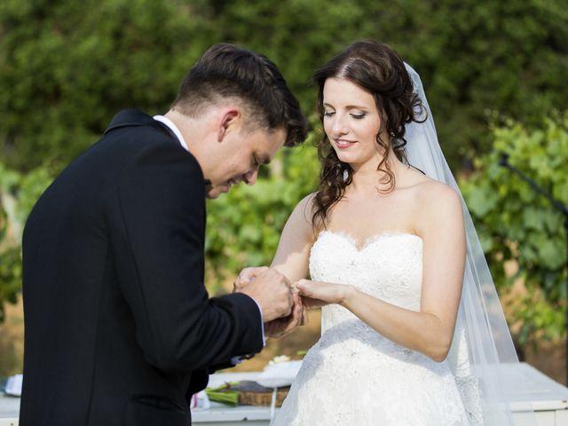 La boda de Brennan y Grace en Sant Cugat Sesgarrigues, Barcelona 111