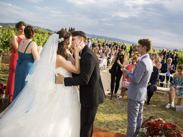 La boda de Brennan y Grace en Sant Cugat Sesgarrigues, Barcelona 113