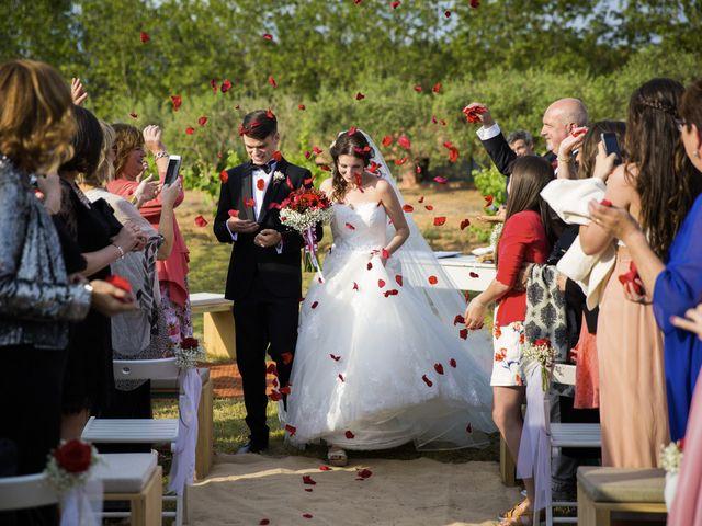 La boda de Brennan y Grace en Sant Cugat Sesgarrigues, Barcelona 115