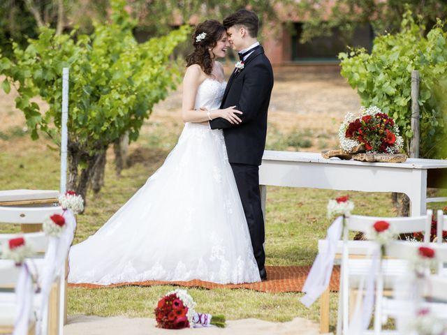 La boda de Brennan y Grace en Sant Cugat Sesgarrigues, Barcelona 116