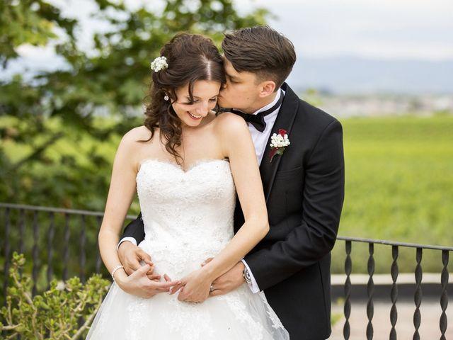 La boda de Brennan y Grace en Sant Cugat Sesgarrigues, Barcelona 120