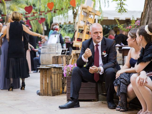 La boda de Brennan y Grace en Sant Cugat Sesgarrigues, Barcelona 125